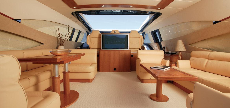 Alalunga Yacht - interior design