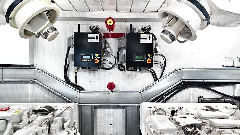 Vismara Marine interno motore