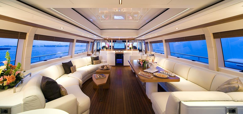 Interni Yacht di lusso