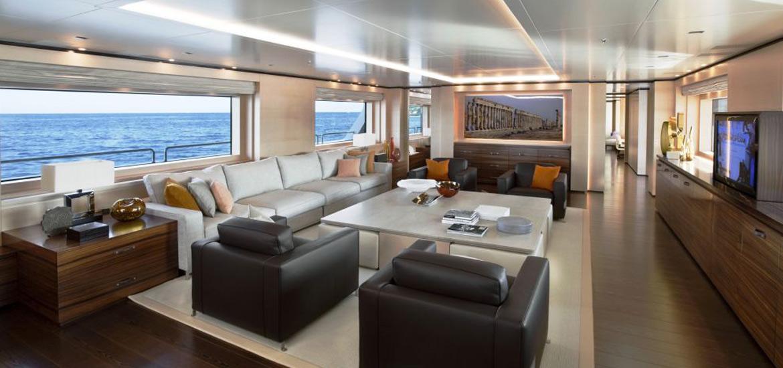 Interni Yacht salotto