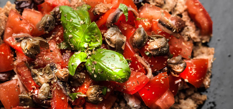 Consorzio Olio Dop - ricetta insalata